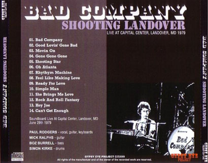 bad company shooting landover tray
