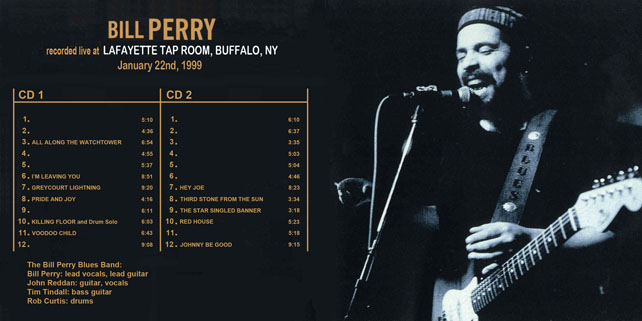 bill perry buffalo 1999 cover in