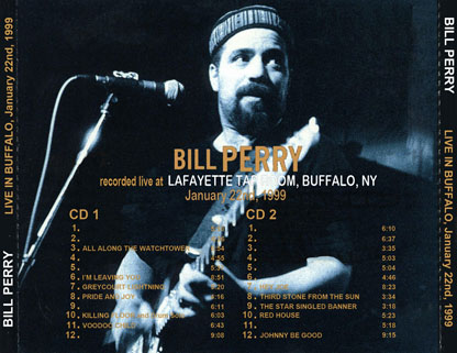 bill perry buffalo 1999 tray