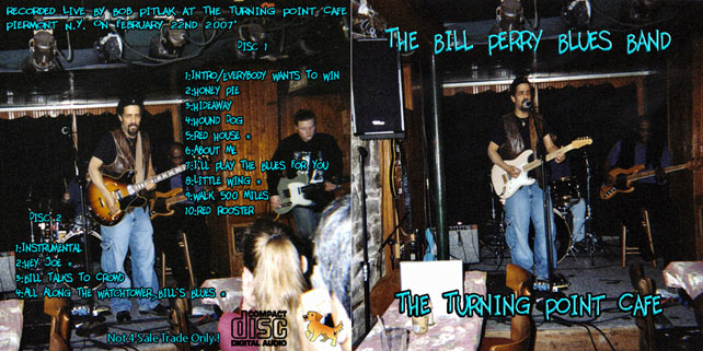 bill perry the turning point cafe cover out