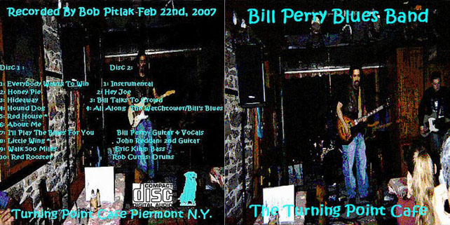bill perry the turning point cafe cover out alternate