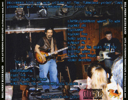 bill perry the turning point cafe tray