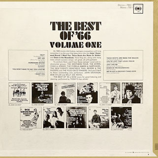 byrds lp the best of 66 back