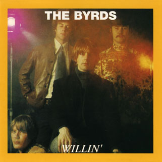 byrds cd willin' front