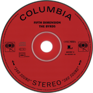 byrds cd fifth dimension columbia label
