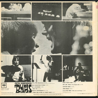 byrds lp fifth dimension columbia usa back