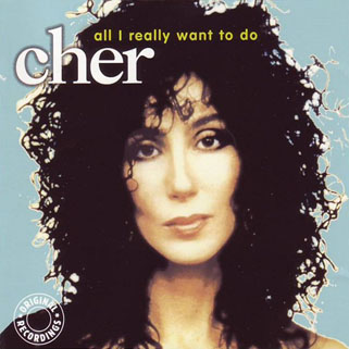 cher cd all really i want to do label pure gold front