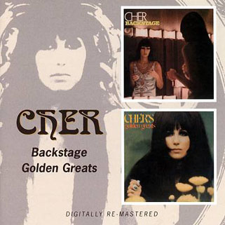 cher cd backstage / Golden Greats front