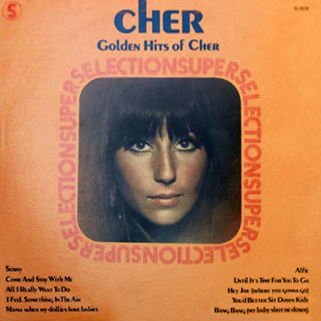 cher lp the golden hits of front canada