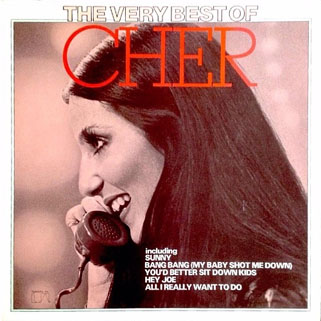 cher lp the very best of front holland