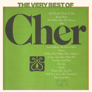 cher lp the very best of front usa