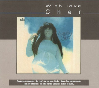 cher cd with love emi france front