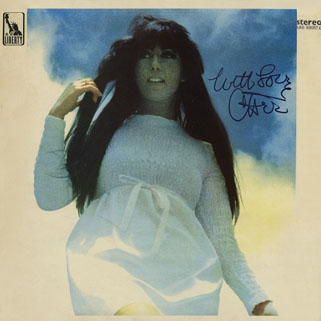 cher lp with love UK front
