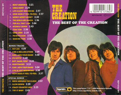 creaton the best of cd tray