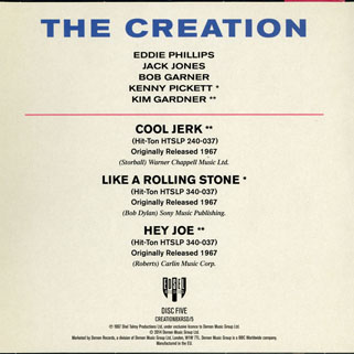 creation ep we are paintermen from boxset back