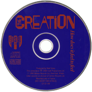 creation how does it fell to feel cd edsel label