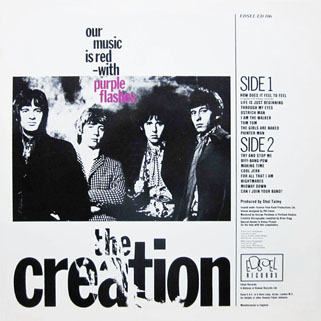 creation how does it fell to feel lp edsel back