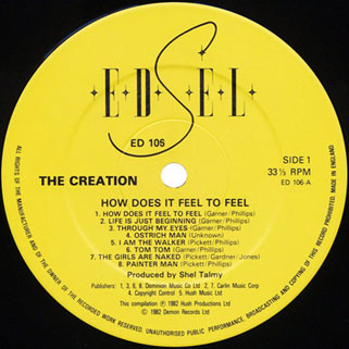 creation how does it fell to feel lp edsel label 1