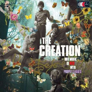 creation our music is red - with purple flashes 2 lp demon front