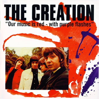 creation our music is red - with purple flashes cd demon front