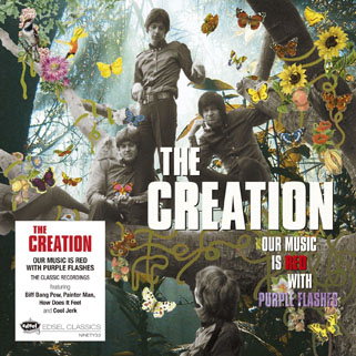 creation our music is red - with purple flashes cd edsel front