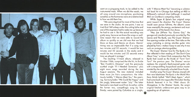 cryan' shames cd sugar and spice now sounds booklet 6