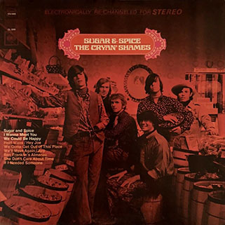 cryan' shames lp sugar and spice columbia usa stereo unknow publication front