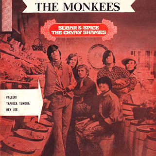 cryan's shames ep the monkees / sugar and spice mtr 232 thailand front
