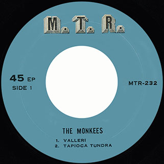 cryan's shames ep the monkees / sugar and spice mtr 232 thailand label 1
