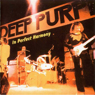 deep purple cd in perfect harmony front
