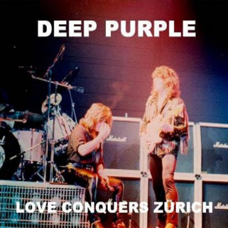 deep purple cd love conquers zurich front