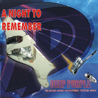 deep purple cd a night to remember front