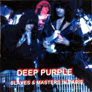 deep purple cd slaves and masters in paris front