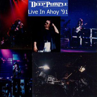 deep purple cd live in ahoy 91 front