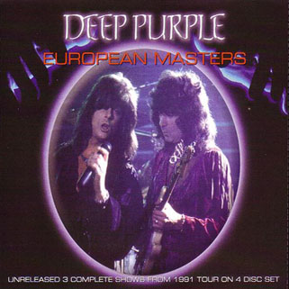 deep purple 4cd european masters front