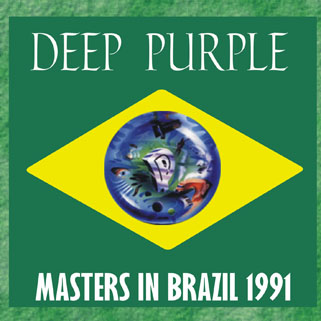 deep purple cd masters in brazil 1991 front