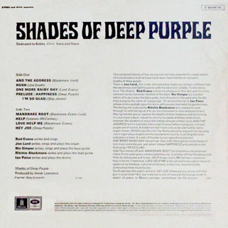 deep purple lp shades of germany back cover