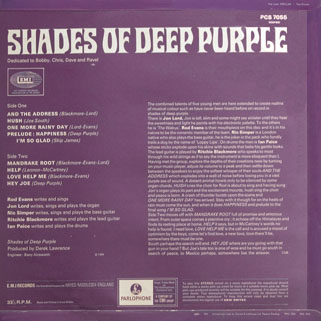 deep purple lp shades of uk back cover first release