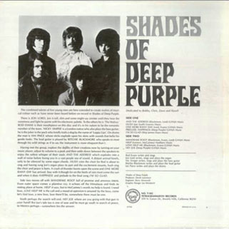 deep purple lp shades of us back cover