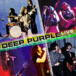 deep purple CD Space Truckin'Round The World Live 68-76 front