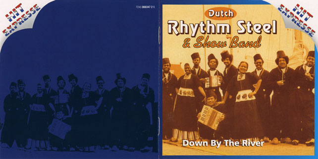 dutch rhythm steel show band down by the river cover out