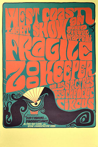 fragile zookeeper poster