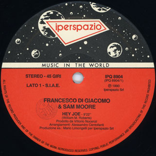 francesco di giacomo 45rpm label 1