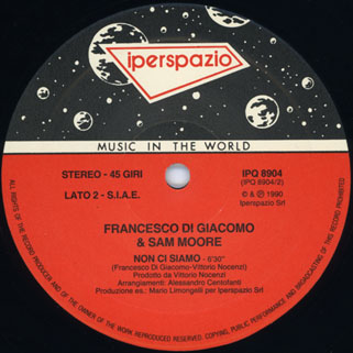 francesco di giacomo 45rpm label 2