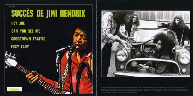 fremont's group cd the best of jimi hendrix in