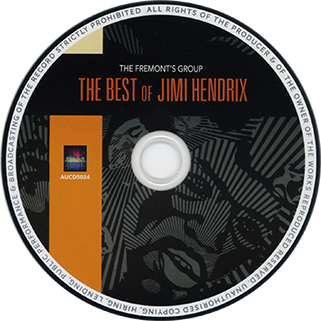 fremont's group cd the best of jimi hendrix label