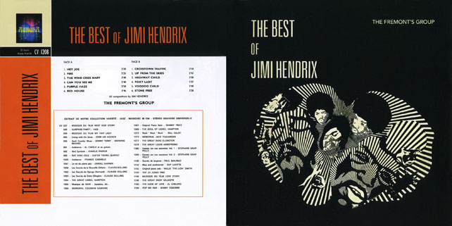 fremont's group cd the best of jimi hendrix out