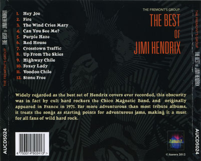fremont's group cd the best of jimi hendrix trayout