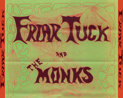 friar tucks and the monks cd are coming tray
