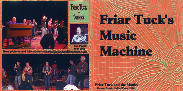 friar tucks and the monks cd music machine cover out